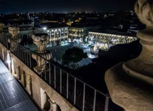 Panorama dalla Badia di S. Agata a Catania