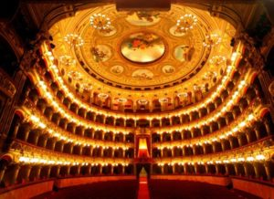 Interno del Teatro Bellini di Catania