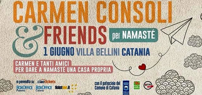 Locandina del concerto Carmen Consoli and Friends